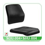 Seat and back shell SDU-004