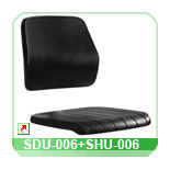 Seat and back shell SDU-006