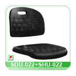 Seat and back shell SDU-022